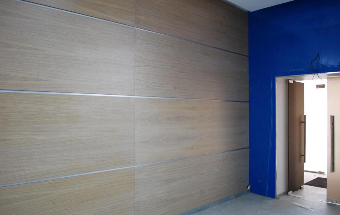 Демонтаж стеновых панелей